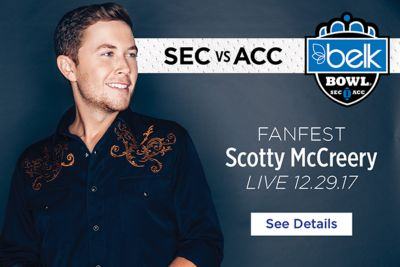 SEC vs ACC - FanFest Scotty McCreery - Live 12.29.17 - See Details