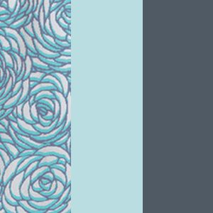Etched Rose/Icy Teal