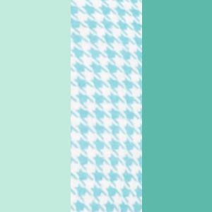 Icy Teal/Houndstooth