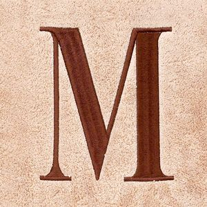 For The Home: Avanti: M Avanti MONOGRAM TOWELS K