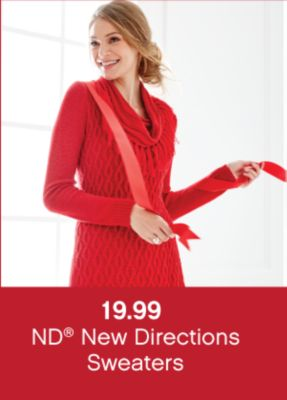 19.99 ND® New Directions Sweaters