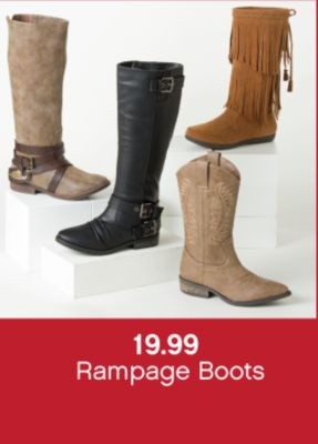 19.99 Rampage Boots