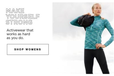 Make Yourself Strong | Activewear that works as hard as you do | shop womens