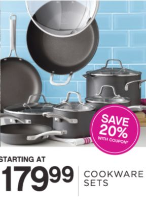 Starting at 179.99 | Cookware set | Save 20% with coupon*