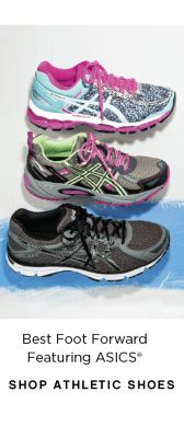 Best Foot Forward Featuring ASICS® | shop athletic shoes