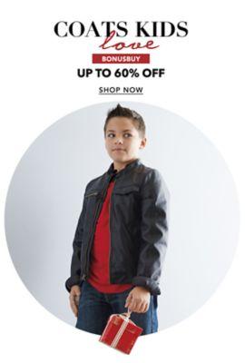 BonusBuy - Coats Love Kids - Up to 60% off. Shop Now.