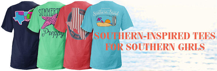Southern-Inspired Tees For Southern Girls