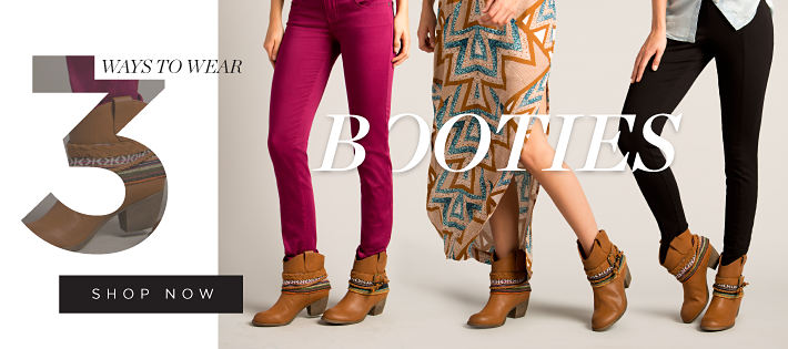 3 ways to wear Booties | shop now