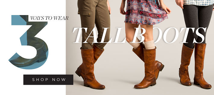 3 ways to wear tall boots | shop now
