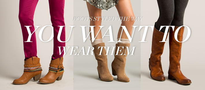 Boots Styled The Way You Want Them
