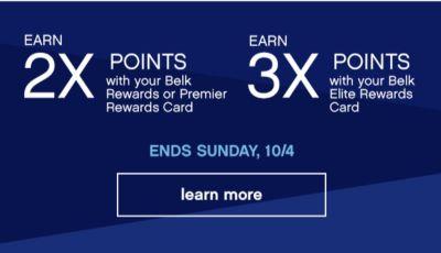 2x 3x points