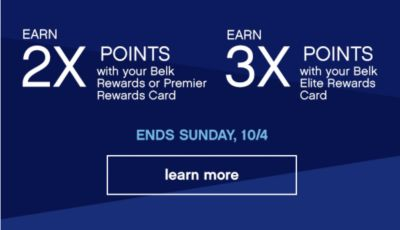 Earn 2x 3x Points Ends Sunday, 10/4