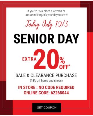 Today Only Senior Day