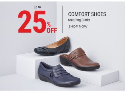 up to 25% comfort shoes