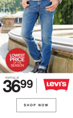 Levi's Starting at 36.99