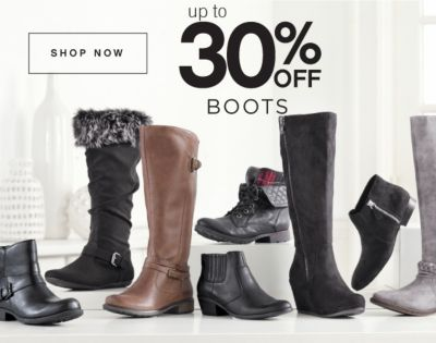 Up to 30% Off Boots