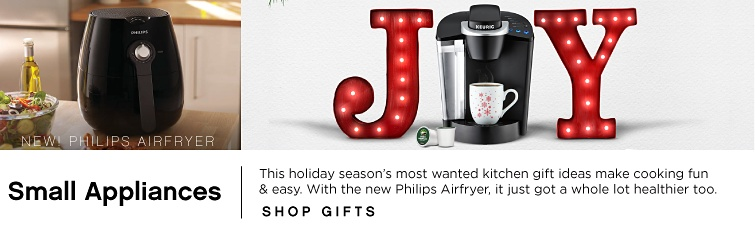 Small Appliances | shop gifts