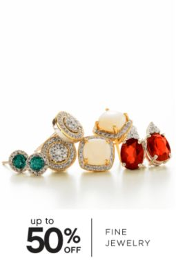 UP TO 50% OFF FINE JEWELRY