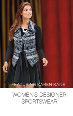 FEATURING KAREN KANE | WOMEN'S DESIGNER SPORTSWEAR
