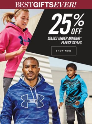 25% OFF SELECT UNDER ARMOUR® FLEECE STYLES | SHOP NOW | BESTGIFTSEVER