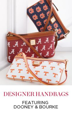 DESIGNER HANDBAGS FEATURING DOONEY & BOURKE