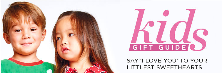 Kids gift guide | Say I love you to your littlest sweethearts