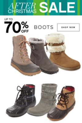 AFTER CHRISTMAS SALE | UP TO 70% OFF BOOTS | SHOP NOW