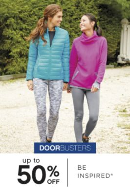 DOORBUSTERS | up to 50% OFF BE INSPIRED®