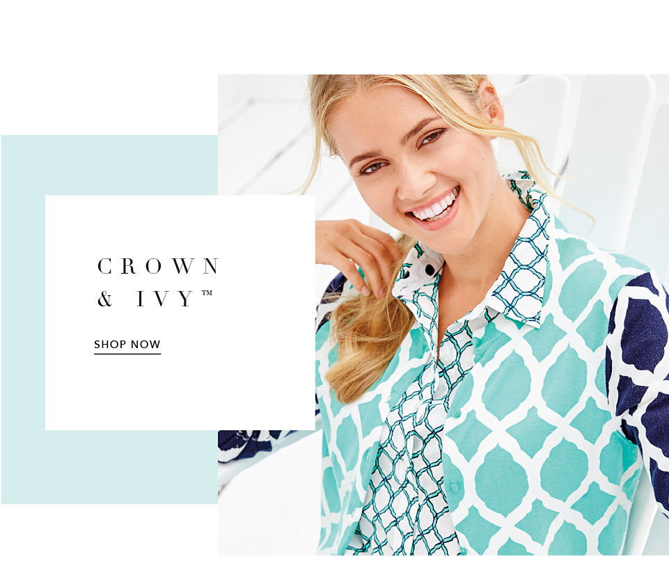 Crown & Ivy™ Shop Now