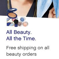 Free shipping on all beauty orders