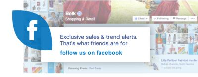 Exclusive sales & trend alerts. That's what friends are for.