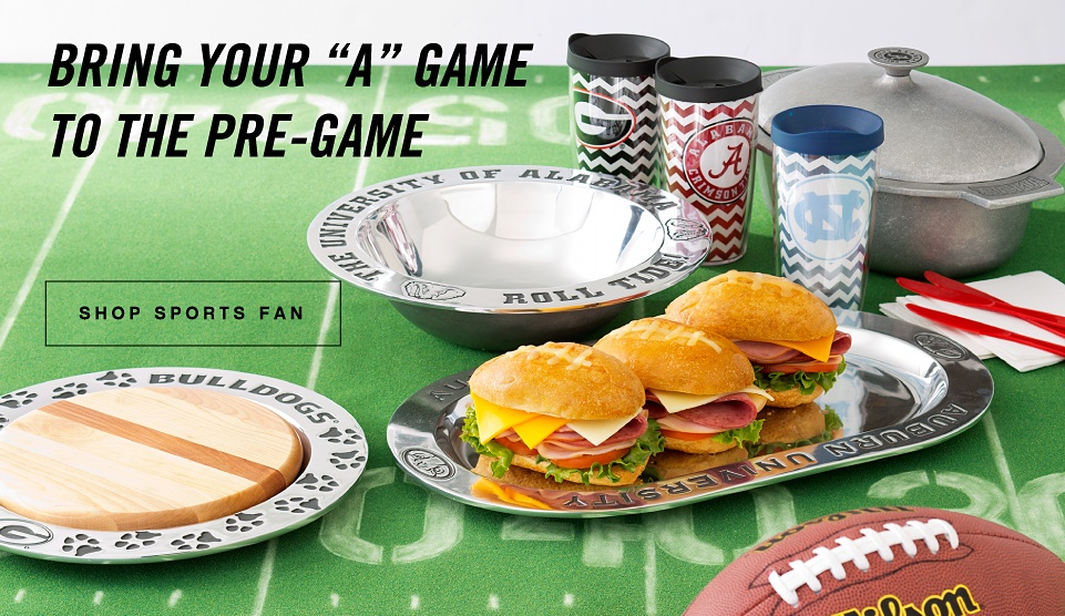 Bring your A game to the pre-game | shop sports fan