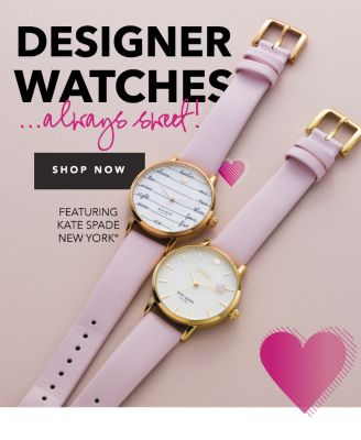 Designer Watches ... Always Sweet! {Featuring kate spade new york®}. Shop Now.