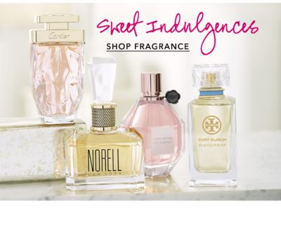 Sweet Indulgences. Shop Fragrance.