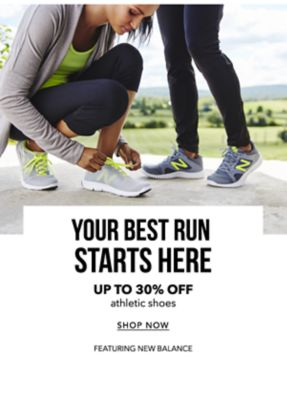 Your Best Run Starts Here - Athletic shoes featuring New Balance - Shop Now