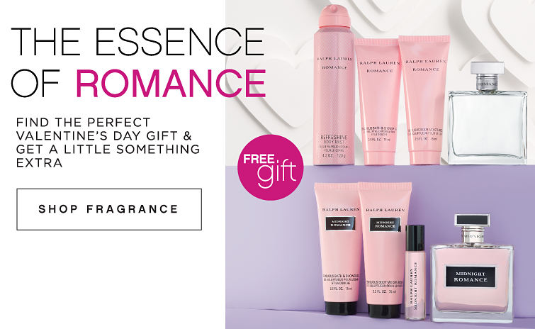 The Essence of Romance | Find the perfect Valentine's Day gift & get a little something extra | Shop Fragrance