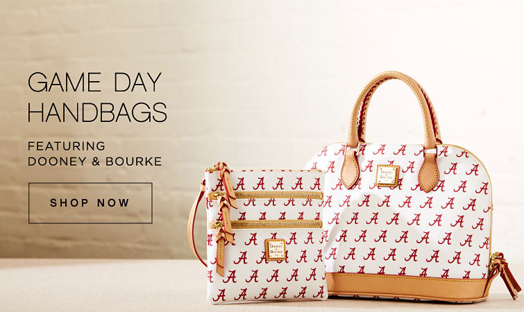 GAME DAY HANDBAGS FEATURING DOONEY & BOURKE | SHOP NOW