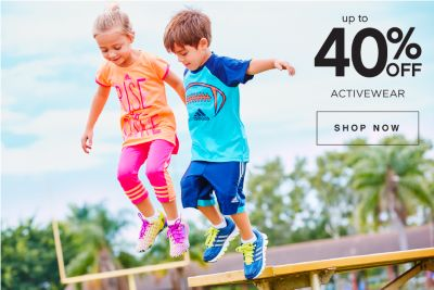 Up to 40% off Activewear | Shop Now