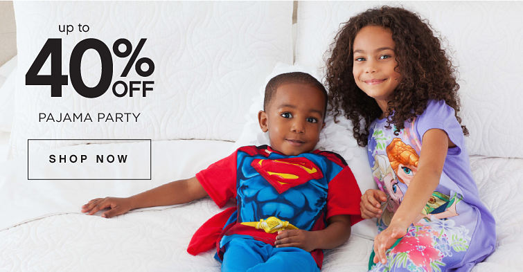 Up To 40% Off Pajama Party