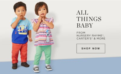 All Things Baby From Nursery Rhyme®, Carter's® & More | Shop Now