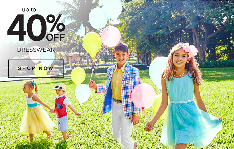 Up To 40% off Dresswear | Shop Now