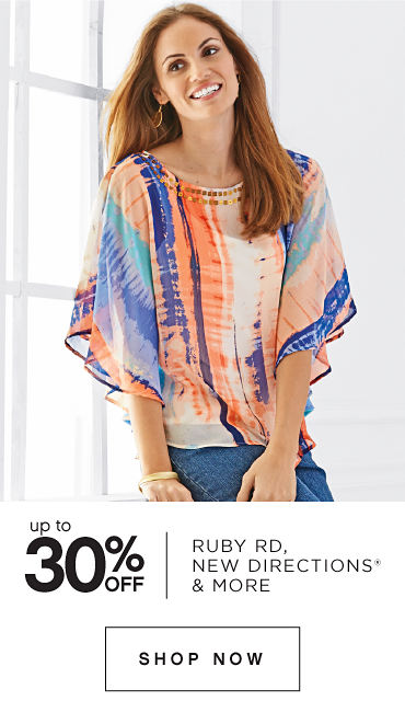 Up to 30% off Ruby Rd., New Directions® & More - Shop Now