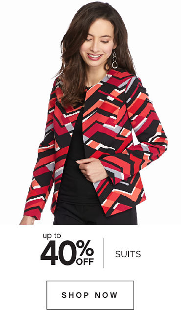 Uo to 40% off Suits - Shop Now