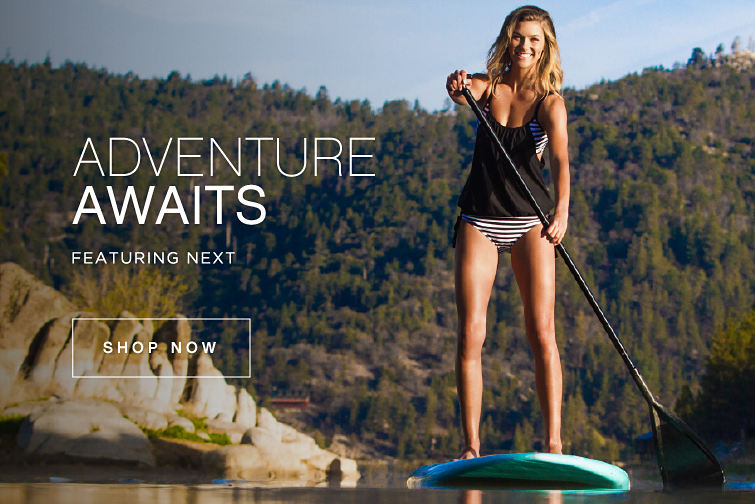 Adventure Awaits featuring NEXT - Shop Now