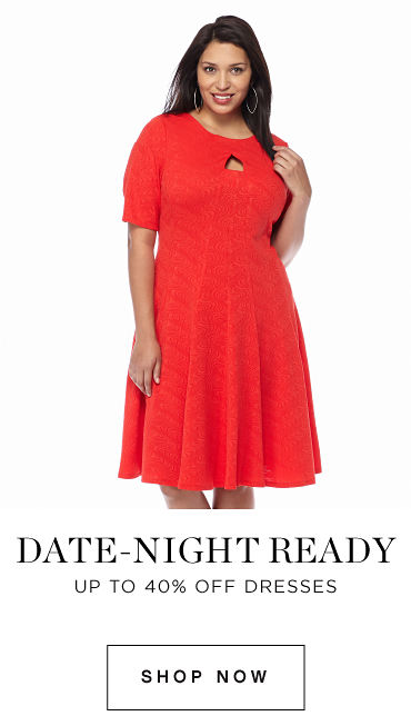 Date-Night Ready | Up to 40% off Dresses - Shop Now