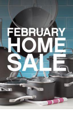 FEBRUARY HOME SALE