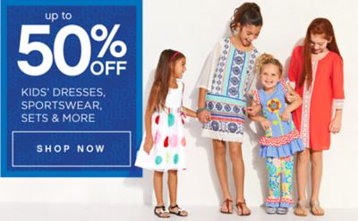 Up to 50% off Kids' Dresses, Sportswear, sets & more | Shop now