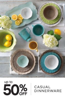 up to 50% OFF | CASUAL DINNERWARE