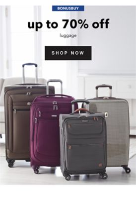 BONUSBUY - Up to 70% off luggage. Shop Now.