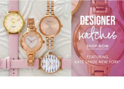 Designer Watches, featuring kate spade new york®. Shop Now.